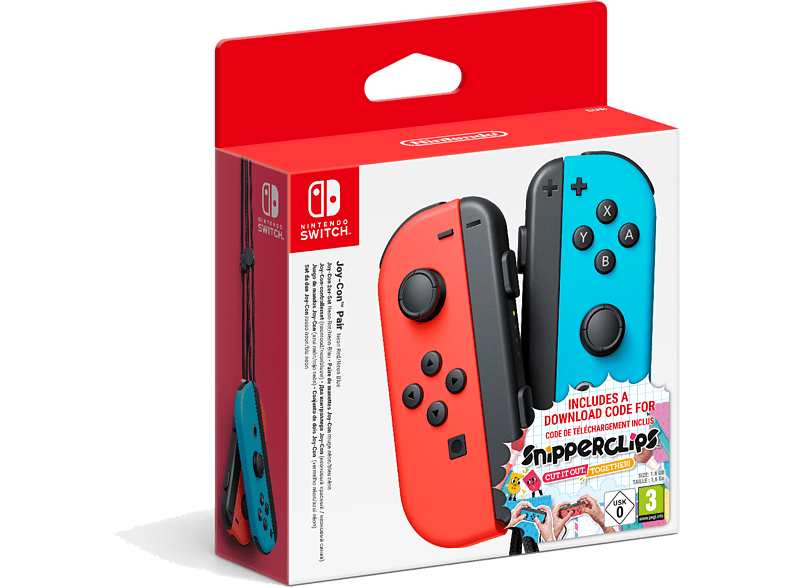 NINTENDO Switch Joy-Con μαζί με digital code για το παιχνίδι Snipperclips gaming απογείωσε την gaming εμπειρία αξεσουάρ switch