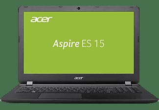 ACER Aspire ES 15 (ES1-533-P5QH), Notebook mit 15.6 Zoll Display, Pentium® Prozessor, 4 GB RAM, 500 GB HDD, HD Grafik 505, Schwarz