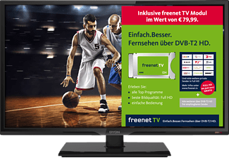 DYON LIVE 24C freenet TV Edition, 60 cm (23.6 Zoll), Full-HD, LED TV, DVB-T2 HD, DVB-C, DVB-S, DVB-S2