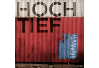 HOCH/TIEF - Detroit-<gt/> Stuttgart (+Download) - (LP + Download)