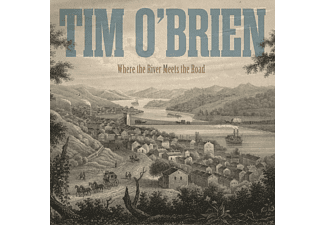Tim O'Brien - Where The River Meets The Road - (CD)
