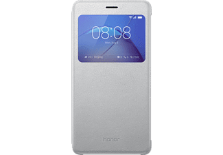 HUAWEI View Flip Cover, Honor, 6X, Silber