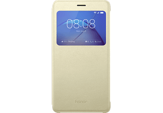 HUAWEI View Flip Cover, Honor, 6X, Gold