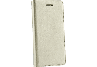 AGM Bookstyle, Bookcover, Samsung, Galaxy S6 Edge, Obermaterial Kunstleder, Gold