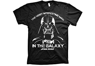 Star Wars T-Shirt Darth Vader interesting Man in the Galaxy L