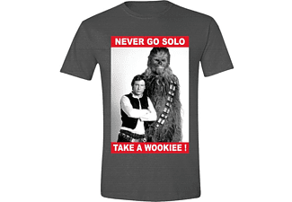 Star Wars T-Shirt Never Go Solo L