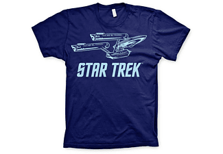 Star Trek T-Shirt Enterprise Ship M