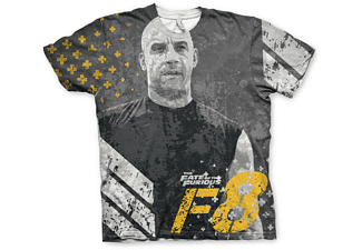 Fast & Furious 8 T-Shirt Dominic the Fate of the Furious XL