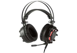 KONIX Pro Gaming Headset 7.1 Vibration Ragnarok, Gaming Headset, Schwarz