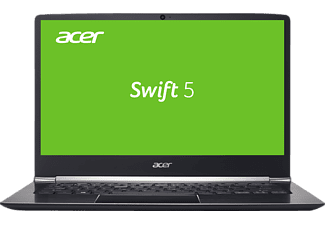 ACER Swift 5 (SF514-51-557Q), Notebook mit 14 Zoll Display, Core™ i5 Prozessor, 8 GB RAM, 256 GB SSD, HD-Grafik 620, Schwarz