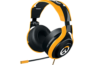 RAZER, RZ04-01920100-R3M1, ManO'War Overwatch Tournament Edition, Gaming Headset, Schwarz/Orange