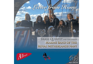 Brass Quintet And Percussion Marine Band Of The Ro - Letter From Home - (SACD Hybrid)