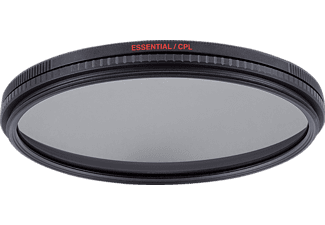 MANFROTTO MFESSCPL-72 Essential, Zirkularpolfilter, 72 mm