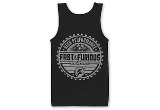 Fast & Furious 8 Tank Top the fate of the Furious Brand XXL