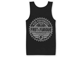 Fast & Furious 8 Tank Top the fate of the Furious Brand XL