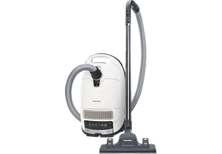 MIELE S 8340 EcoLine (mit Beutel, AirClean‐Filter, D, Lotosweiß)