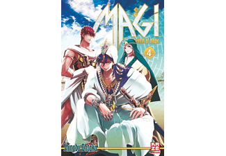 Magi – The Labyrinth of Magic – Band 4, Fantasy (Taschenbuch)
