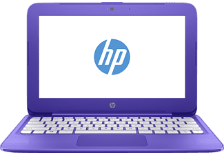 HP Stream 11-y072ng, Notebook mit 11.6 Zoll Display, Celeron Prozessor, 2 GB RAM, 32 GB eMMC, HD-Grafik 400, Violett