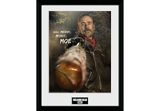 The Walking Dead Collector Print Negan Eeny, Meeny