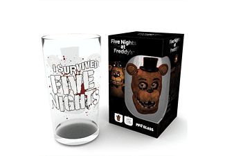 Five Nights at Freddy's Glas I Survived Five Nights