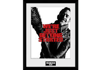 The Walking Dead Collector Print Getting Started (Negan)