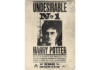 Harry Potter Blechschild Undesirable