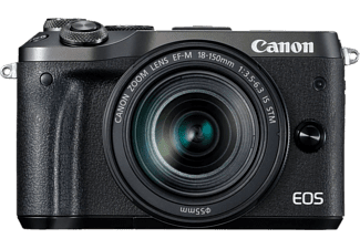 CANON EOS M6 + EF-M 18-150 mm fekete Kit