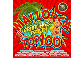 VARIOUS - Mallorca Frühlingsparty Top 100 Vol.1 - (CD)