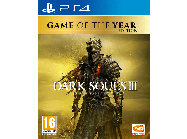 Dark Souls III - The Fire Fades Edition (GOTY) PlayStation 4 gaming games ps4 games