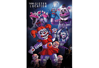 Five Nights at Freddy's Poster Sister Location Group