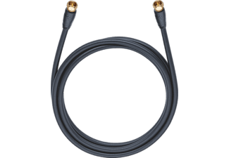 OEHLBACH Easy Connect Antenna F 4,0m, Digitales Satellitenkabel, 4000 mm, Schwarz