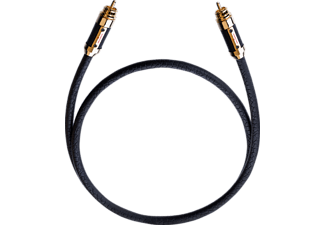 OEHLBACH XXL Black Connection Digitalkabel 1.25 m, Cinchkabel, 1250 mm, Schwarz