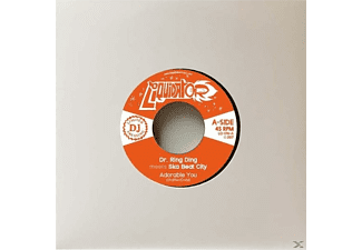 Dr.Ring Ding Meets Ska Beat City - Adorable You/Tren A Coventry - (Vinyl)