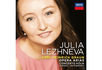 Julia Lezhneva - Graun Arias - (CD)
