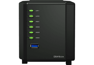 SYNOLOGY DS 416 SLIM 4-BAY  2.5 Zoll