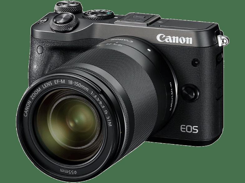 CANON EOS M6 με φακό 18-150mm Black hobby   φωτογραφία φωτογραφικές μηχανές mirrorless cameras
