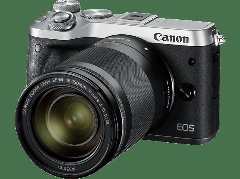 CANON EOS M6 με φακό 18-150mm Silver hobby   φωτογραφία φωτογραφικές μηχανές mirrorless cameras
