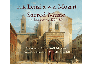 Francesca Lombardi Mazzulli, Ensemble Autarena - Sacred Music in Lombardy 1770-80 - (CD)