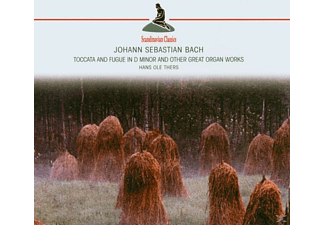 Hans Ole Thers - Toccata And Fugue In D Minor(Bach,Johann Sebastian - (CD)