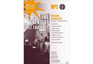 VARIOUS - Greatest Jazz Concerts-MP3 - (MP3-CD)