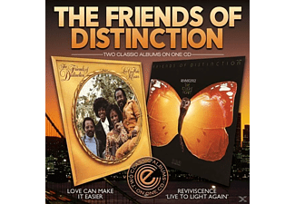 The Friends Of Distinction - Love Can Make It Easier/Reviviscene - (CD)