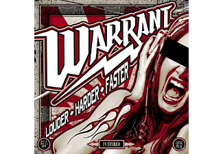 Warrant - Louder Harder Faster (Ltd.Gatefold/Red Vinyl) - (Vinyl)