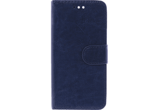 V-2-1 056 Bookcover Honor 8 Kunstleder Blau