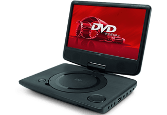 caliber tragbarer dvd player mpd110 mit 10 zoll monitor. Black Bedroom Furniture Sets. Home Design Ideas