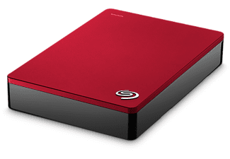 SEAGATE Backup Plus V2 Portable 5 TB - Röd