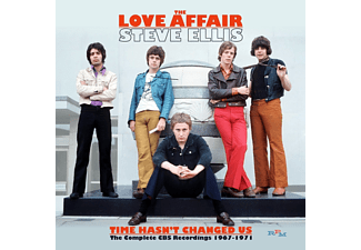 Steve Ellis' Love Affair - Time Hasn't Changed Us: the Complete CBS Recordings 1967-1971 (CD)