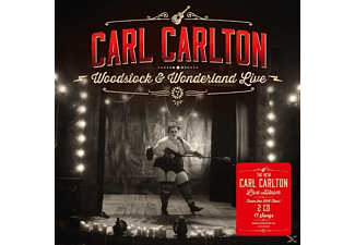 Carl Carlton - Woodstock & Wonderland Live - (CD)