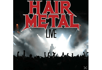 VARIOUS - Hair Metal Live - (CD)