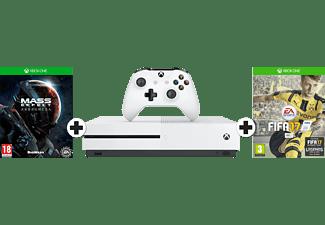 MICROSOFT Xbox One S 1 TB FIFA 17 + Mass Effect: Andromeda Bundel