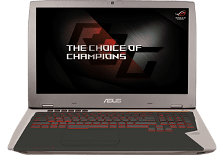 ASUS G701VIK-BA049T, Gaming Notebook mit 17.3 Zoll Display, Core™ i7 Prozessor, 32 GB RAM, 256 GB SSD, 256 GB SSD, GeForce GTX 1080, Gray Metal